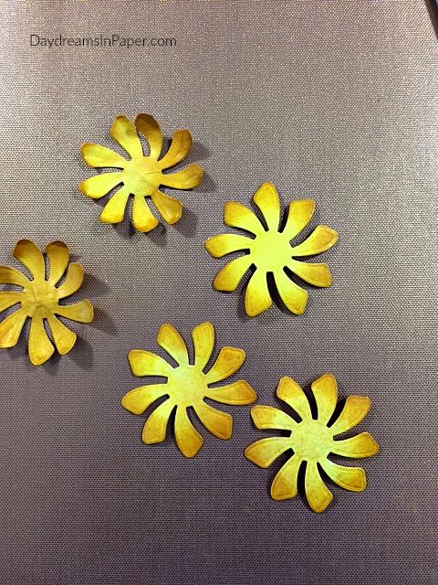 Shaped Paper Pinwheel Posies
