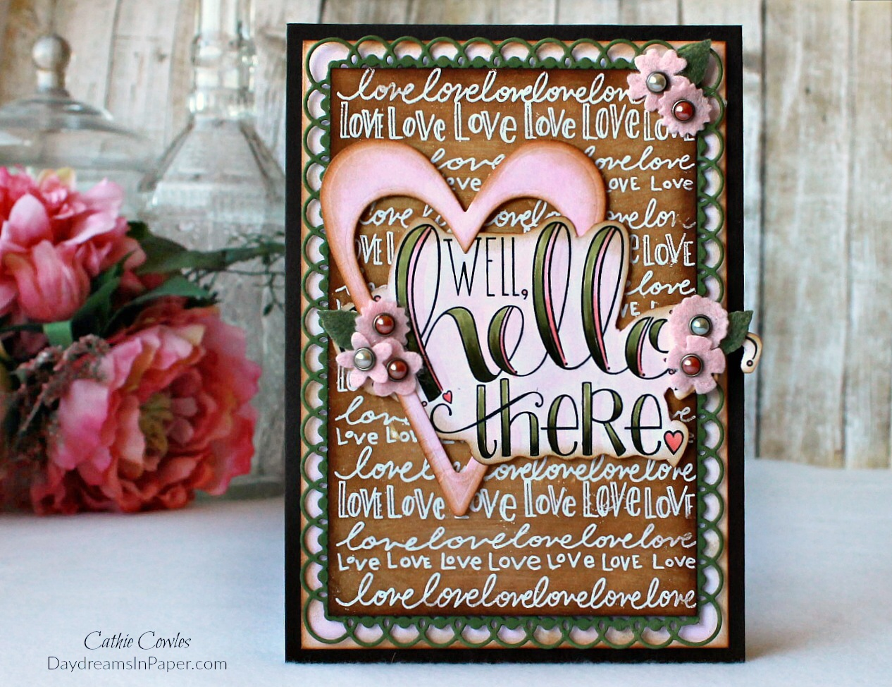 Handmade Card with Tammy Tutterow Designs Stamp