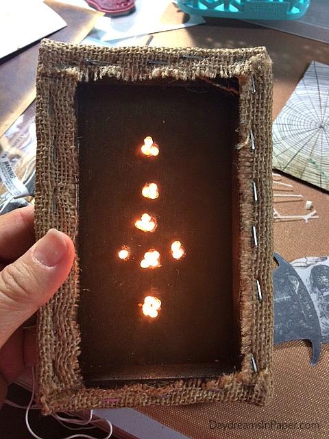 Shadow Box with Lights