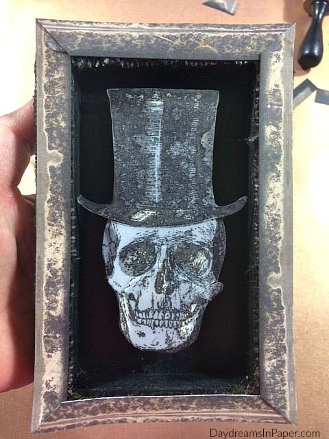 Shadowbox with Skeleton