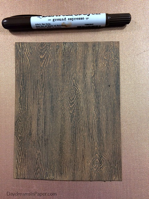 Woodgrain Created Out of Paper