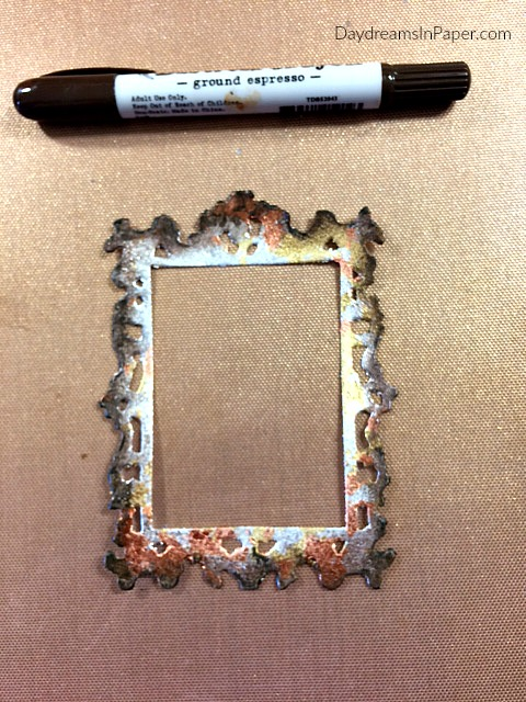 Step Five - Creating a Gilded Frame