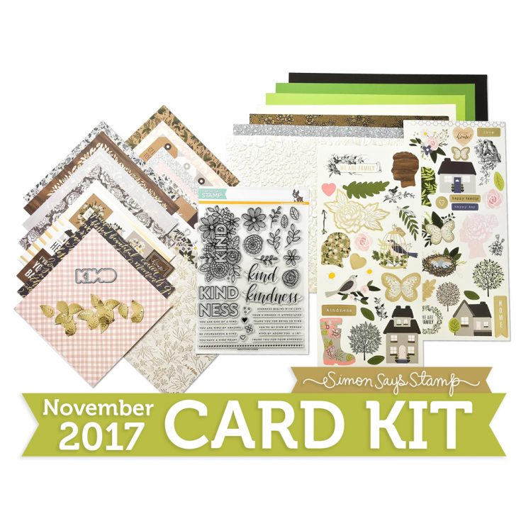 Simon Says Stamp November Card Kit Image