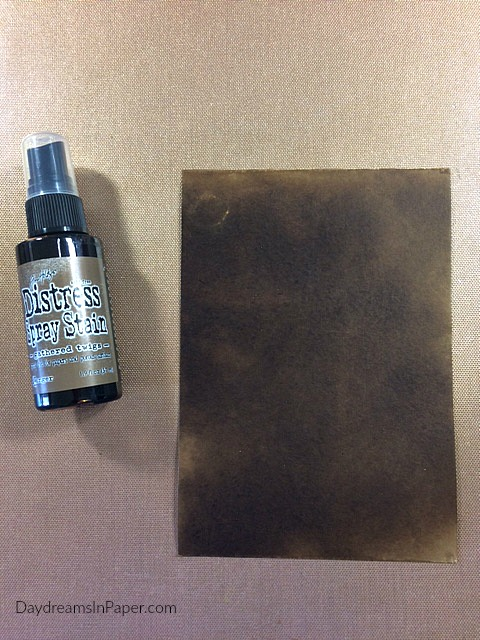 Creating A Rub Away Stenciled Background for a Handmde Card