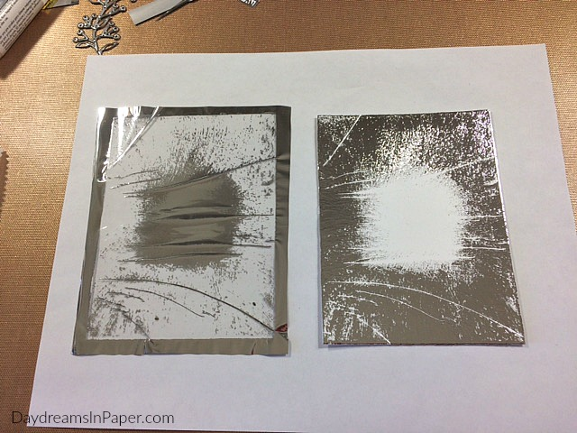 Creating Background with Deco Foil