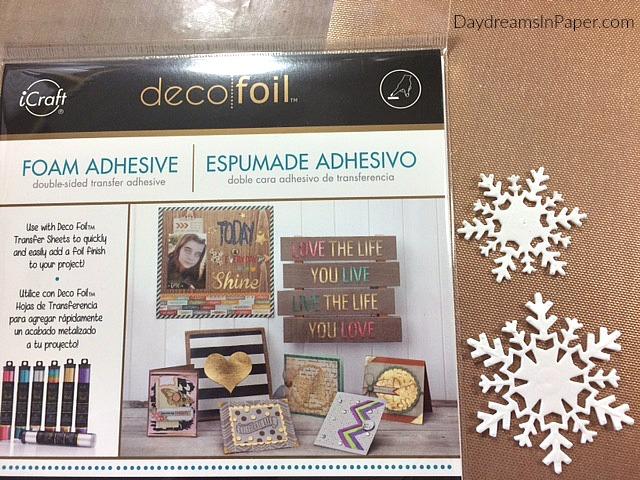 Supplies for Creating Deco Foil Die Cut Pieces