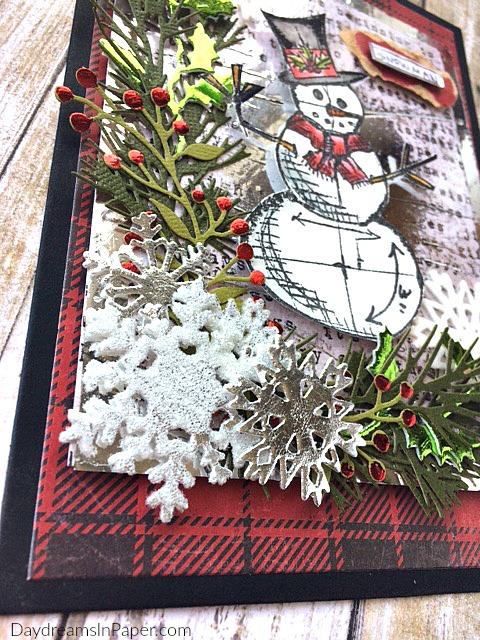 Handmade Card Using Deco Foil