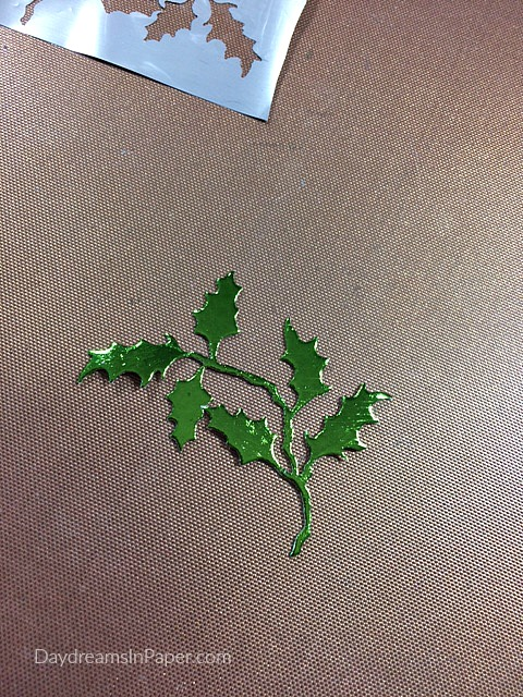 Creating Deco Foil Paper Leaves