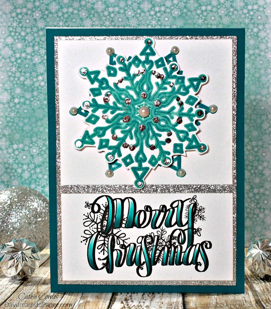 Handmade Christmas Card with Tammy Tutterow Designs