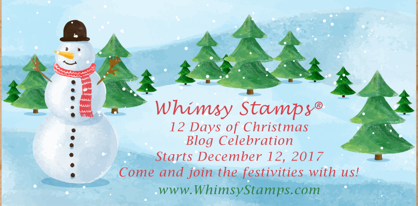 Whimsy Stamps 12 Days of Christmas