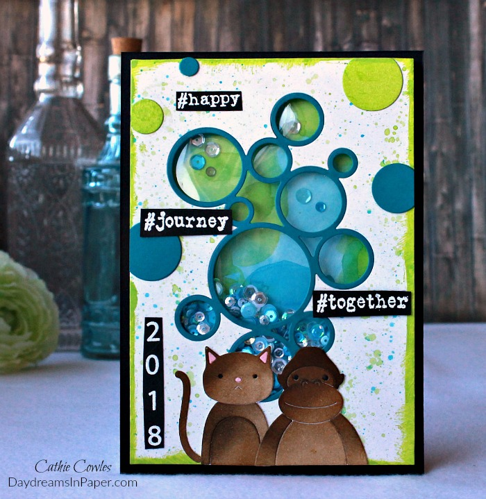 New Year Journey Handmade Card
