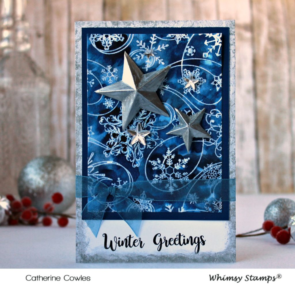 Handmade Card With Whimsy Stamps
