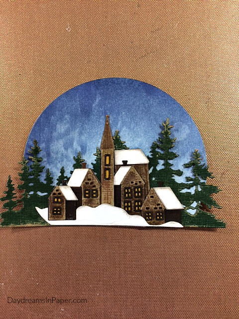Creating Scenery for Handmade Card