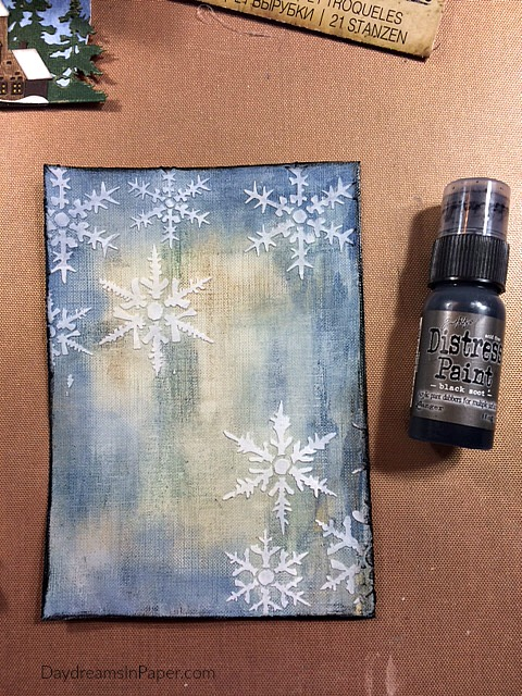 Creating Second Background Scene for Handmade Card Step 7