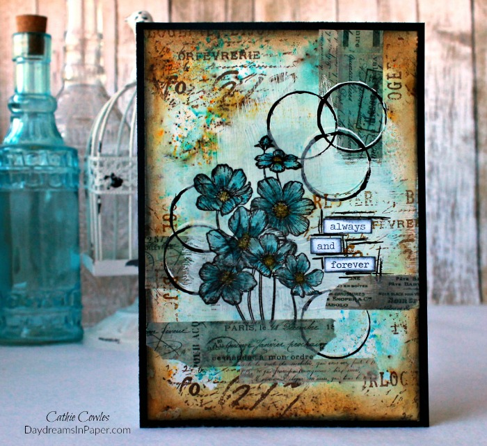 Handmade Card with Carabelle Studio Stamp